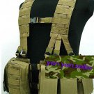 Military Surplus Woodland Camouflage Tactical Vest AS12
