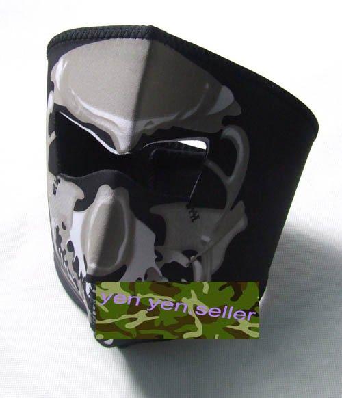 Navy Seal SWAT Skull Neoprene Full Face Protector Mask