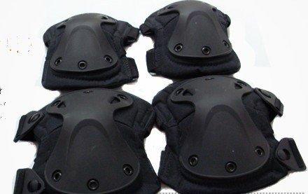 SWAT X-Cap Airsoft Paintball Knee & Elbow Pads  U