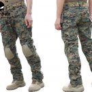 Tactical Combat Pants w/Knee Pads Digital