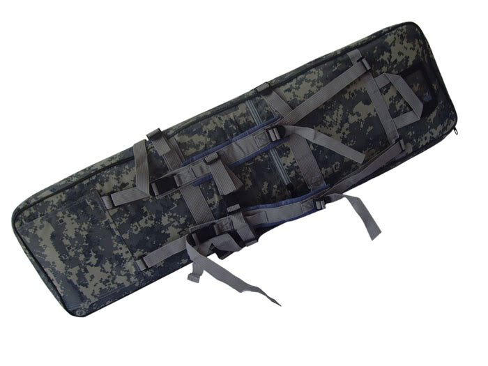 "40"" SWAT Dual Tactical Rifle Carrying Case Gun Bag"