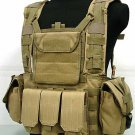 Molle Canteen Hydration Combat RRV Vest Coyote Brown