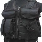 SWAT Airsoft Combat Tactical Assault Hunting Vest BK B