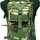 Level 3 MOD Molle Assault Backpack Bag Camo Woodland