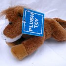 NWT Brown Horse and White Horse Plush Stuffed Animal Lot