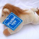 NWT Tan Horse and White Horse Plush Stuffed Animal Lot