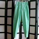 Best American Clothing Co retro green pants size 9/10