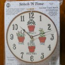 Stitch 'N Time Herbs clock counted cross stitch kit 5957