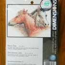 Dimensions Horse Pals counted cross stitch kit 65030
