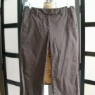 Apostrophe Stretch dark brown capris crop size 2