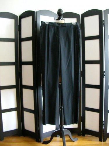 Behnaz Sarafpour black lace dress pants size 5
