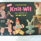 Vintage Knit-Wit yarn handicraft kit