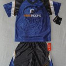 Nike Boys 2 piece Blue Basketball Outfit Size 4 NWT