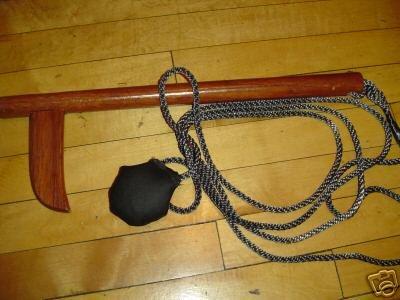 Training  wooden kusarigama wooden ,ninjutsu , bujinkan
