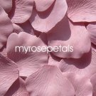 Petals - 1000 Silk Rose Petals Wedding Favors - Solid Colors - Dusty Rose