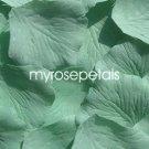 Petals - 200 Silk Rose Petals Wedding Favors - Solid Colors - Pistachio