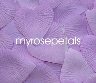 Petals - 200 Heart Wedding Silk Rose Flower Petals Wedding Favors - Lavender