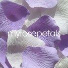 Petals - 200 Wedding Silk Rose Flower Petals Wedding Favors - Lavender & White