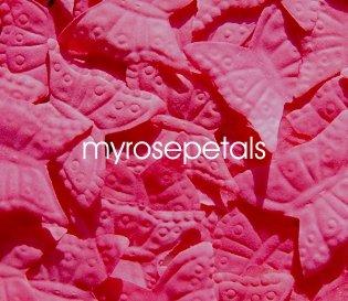 Petals - 1000 Butterfly Shaped Silk Rose Flower Petals Wedding Favors - Hot Pink