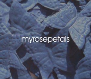 Petals - 1000 Butterfly Shaped Silk Rose Flower Petals Wedding Favors - Navy Blue