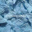 Petals - 1000 Butterfly Shaped Silk Rose Flower Petals Wedding Favors - Powder Blue