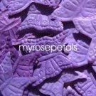 Petals - 1000 Butterfly Shaped Silk Rose Flower Petals Wedding Favors - Purple