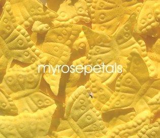 Petals - 1000 Butterfly Shaped Silk Rose Flower Petals Wedding Favors - Yellow