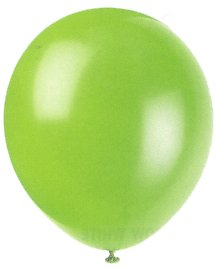 "Balloons - 12"" Latex Balloons - 144/Bag - Birthday Party/Wedding Celebration - Lime Green"
