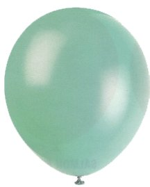 "Balloons - 12"" Latex Balloons - 144/Bag - Birthday Party/Wedding Celebration - Aqua"