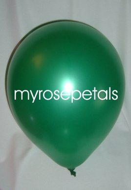"Balloons - 12"" Latex Pearlized Balloons - 144/Bag - Party/Wedding -  Jade"
