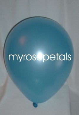 "Balloons - 12"" Latex Pearlized Balloons - 144/Bag - Party/Wedding -  Powder Blue"