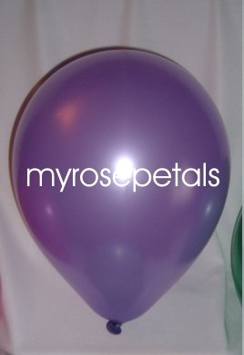 "Balloons - 12"" Latex Pearlized Balloons - 144/Bag - Party/Wedding -  Lavender"