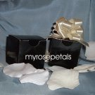 "Glossy Favor Boxes - 2""x 2"" x 2"" Black - (10 pcs) Wedding/Shower/Party Favors"