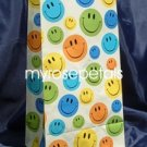 Paper Favor Treat Goody Luau Party Gift Bags - Smiley Faces (10 Bags)