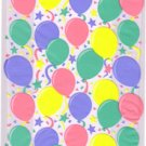 Cello Cellophane Favor Treat Party Bags w/Twist-Ties-Balloons