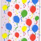Cello Cellophane Favor Party Bags w/Twist-Ties-Festive Balloons