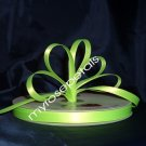 "Ribbon - Satin Ribbon- 3/8"" Single Face 100 Yards (300 FT) -Lime Green-Sewing-Craft -Wedding Favors"