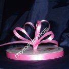 "Ribbon - Satin Ribbon- 3/8"" Single Face 100 Yards (300 FT) -Pink - Sewing-Craft -Wedding Favors"