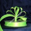 "Ribbon - Satin Ribbon- 5/8"" Single Face 50 Yards (150 FT) - Lime Green-Sewing-Craft- Wedding Favors"