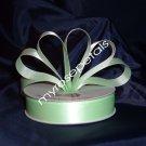 "Ribbon - Satin Ribbon- 7/8"" Single Face 50 Yards (150 FT)- Pale Green -Sewing-Craft -Wedding Favors"