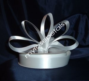 "Ribbon - Satin Ribbon- 7/8"" Single Face 50 Yards (150 FT)- White -Sewing-Craft -Wedding Favors"
