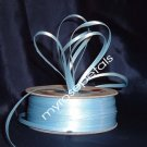 "Satin Ribbon- 1/8"" Double Face 100 Yards (300 FT) - Light Blue -Sewing-Craft-Wedding Favors"