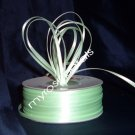 "Satin Ribbon- 1/8"" Double Face 100 Yards (300 FT) - Pale Green -Sewing-Craft-Wedding Favors"