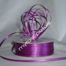 "Satin Ribbon- 1/8"" Double Face 100 Yards (300 FT) - Purple -Sewing-Craft-Wedding Favors"