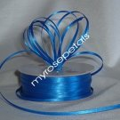 "Satin Ribbon- 1/8"" Double Face 100 Yards (300 FT) - Ryal Blue -Sewing-Craft-Wedding Favors"