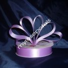"""Satin Ribbon- 7/8"""" Double Face 50 Yards (150 FT) - Lavender -Sewing-Craft - Wedding Favors"""