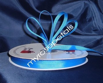 "Grosgrain Ribbon 3/8"" - 50 Yards (150 FT) - Royal Blue - Sewing - Craft - Wedding Favors"
