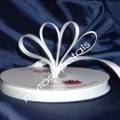 "Grosgrain Ribbon 3/8"" - 50 Yards (150 FT) - White - Sewing - Craft - Wedding Favors"