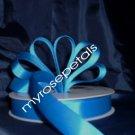 "Grosgrain Ribbon 7/8"" - 50 Yards (150 FT) - Royal Blue -Sewing- Craft - Wedding Favors"