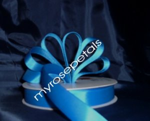 "Grosgrain Ribbon 7/8"" - 50 Yards (150 FT) - Royal Blue -Sewing- Craft - Wedding Favors"